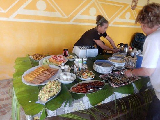 Peleliu, ปาเลา: Breakfast