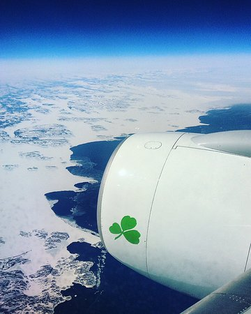 Aer Lingus: Arriving to the Coast of Canada