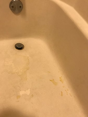Monteagle, TN: No idea if these stains were permanent or it just hadn't been cleaned.