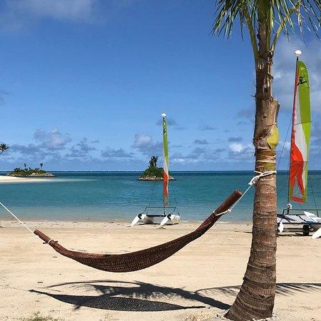 Six Senses Fiji: Picturesque beach