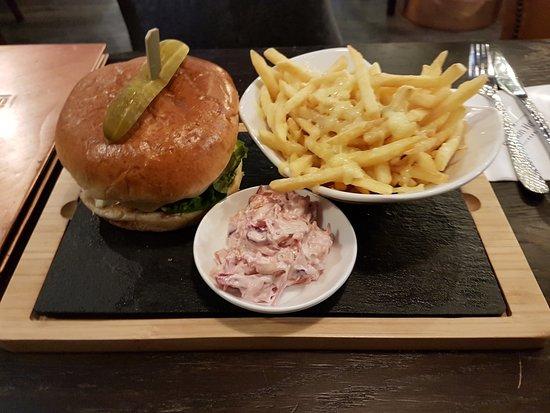 Rothes, UK: Burger