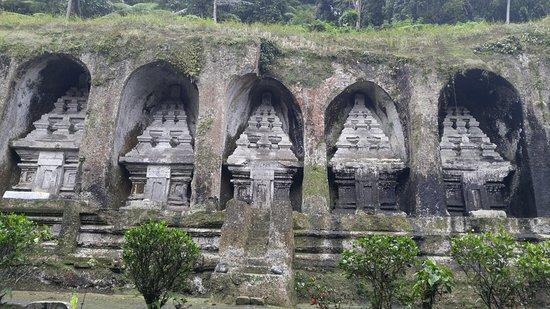 Gunung Kawi Sebatu Temple: Tampak depan pura