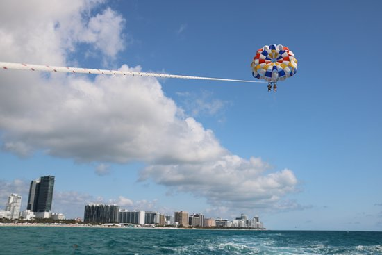 South Beach Parasail Look At The View