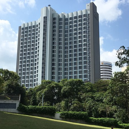 Basic but decent business hotel