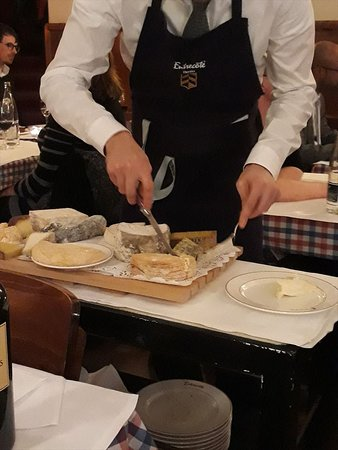 Entrecote, チーズワゴン