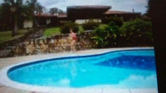 Cundinamarca Department, Kolumbien: VISTA DE CASONA Y PISCINA