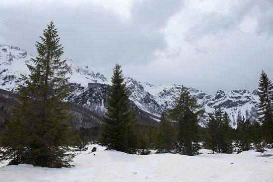 Bajram Curri, Albania: Snowing in Valbona