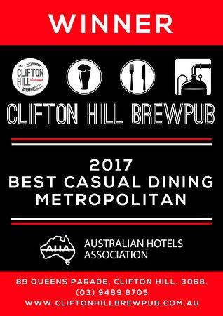 Clifton Hill, Australia: AHA Awards 2017