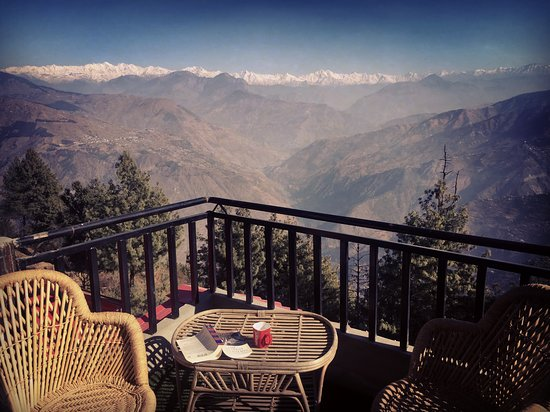 Kotgarh, India: The view from the top