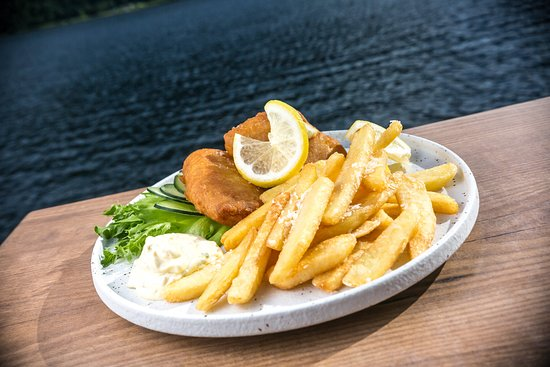 Telemark, Noruega: Fish and Chips