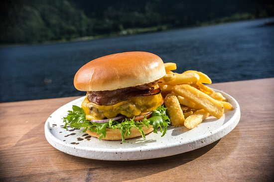 Telemark, Norway: Bacon Burger