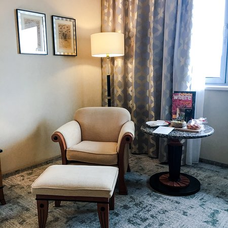 A luxurious stay at Kempinski hotel