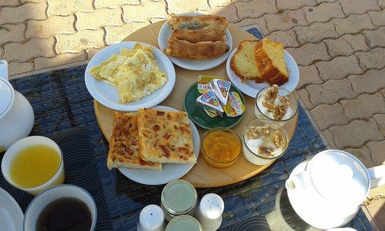 Kambos, Grecja: Breakfast