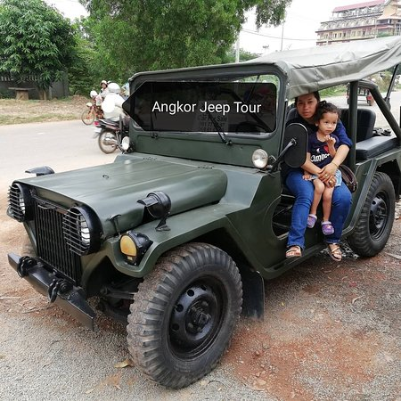 Angkor Jeep Tour