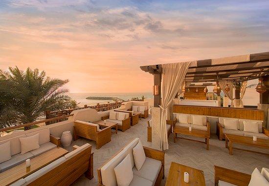 Sunset Lounge at Bab Al Bahr rooftop