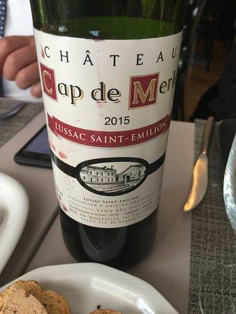 F.Kabbaj : Chateau Cap de Merle 2015