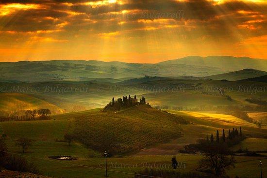 Torrita di Siena, Italy: Val D'Orcia