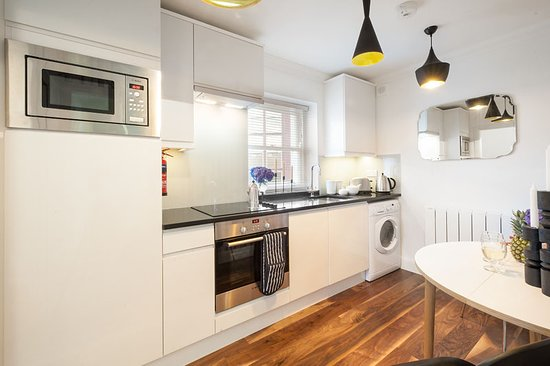 Fully fitted kitchens in all of the apartments allow you to enjoy a taste of home.