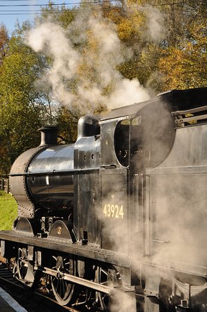 Oxenhope, UK: steam