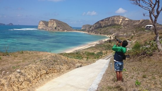 Mataram, Indonesien: Gerupuk Bay. South Lombok