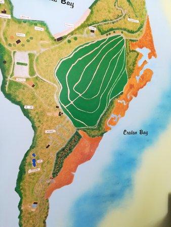 Croton on Hudson, Νέα Υόρκη: 公園の地図。全部回ろうとすると。。。頑張ってみてください。