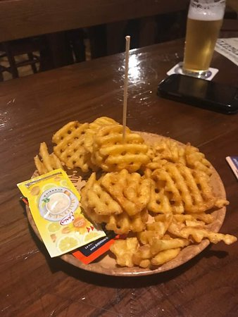 Il Corsaro Risto Pub: patatine grill con paprika