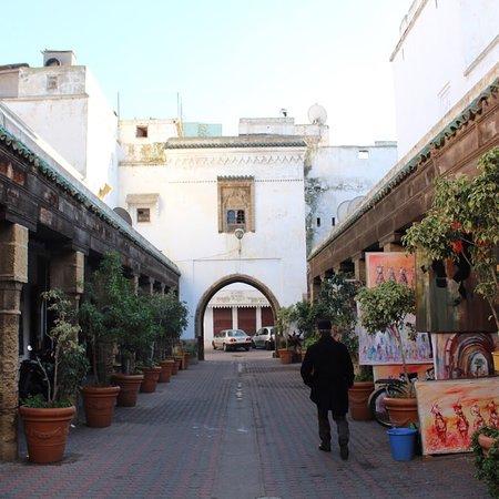 Casablanca, Marokko: A glimpse of the Habous place