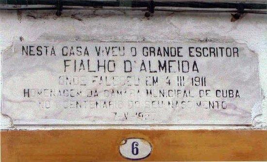 Casa do escritor Fialho de Almeida