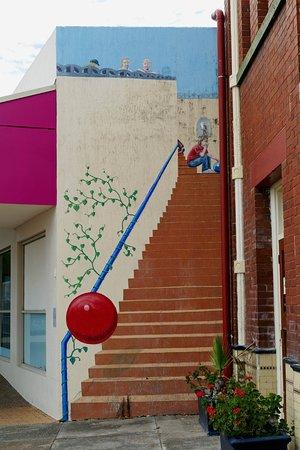 Kurri Kurri, Australia: Staircase to Nowhere