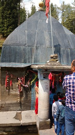 Kharapathar, India: Giriganga Durga mandir
