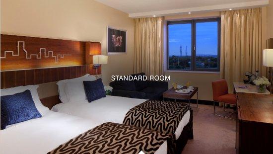 Radisson Blu Hotel, Dublin Airport: ce qui était annoncé sur le site