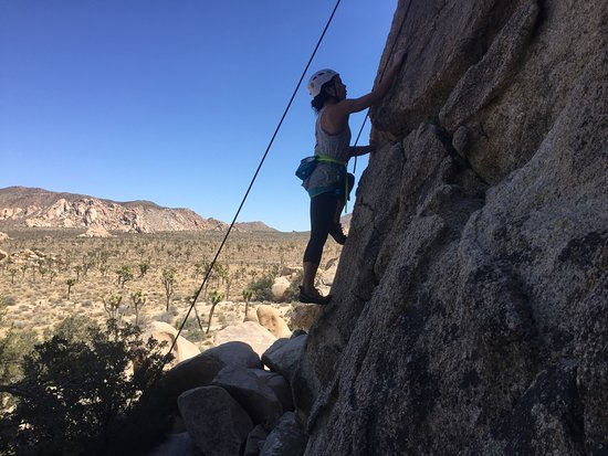 Joshua Tree, CA: When the holds are tiny you must keep yourself in balance at all times.