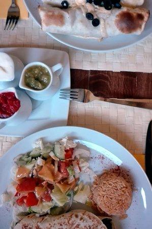 Hacjenda El Paso: Potrawy i sosy