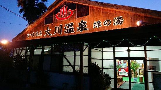Okawa, اليابان: 大川温泉 貴肌美人 緑の湯