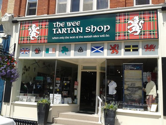 ‪‪Port Perry‬, كندا: Welcome to the Wee Tartan Shop, located in picturesque downtown Port Perry, Ontario.  ‬