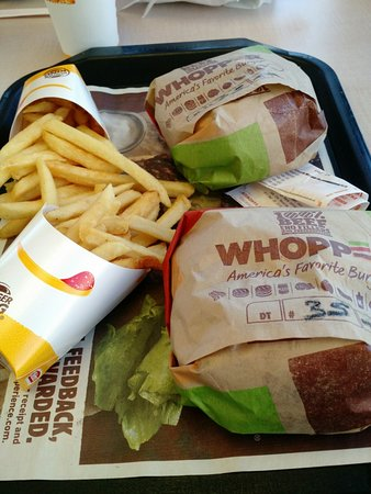 Whopper Special 2 for price of 1 - Picture of Burger King