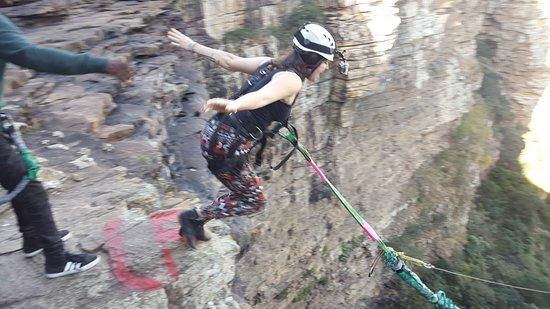 Port Shepstone, جنوب أفريقيا: Girl Power - GOrge Jump