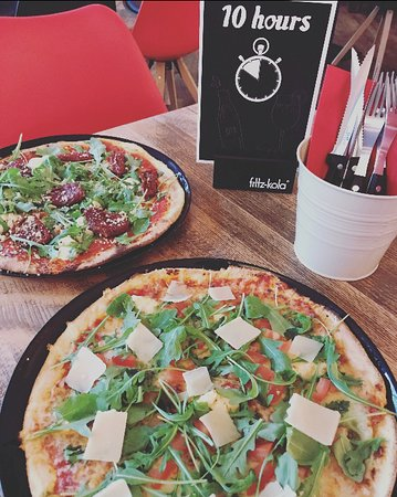Coesfeld, Tyskland: Das waren unsere Pizzen!