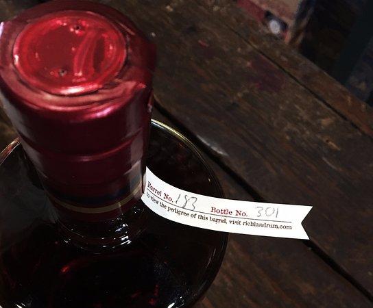 Richland Rum - Richland: track your bottle's origin