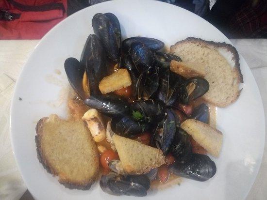 Comiziano, Ιταλία: Zuppa di cozze