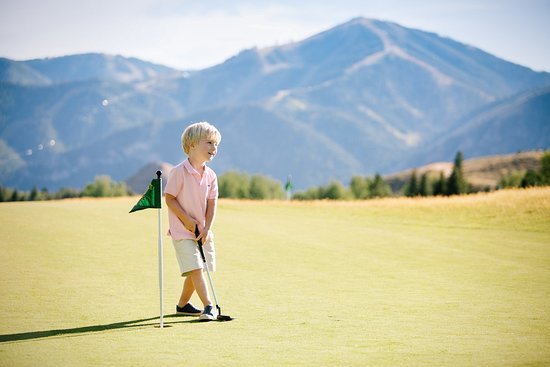 Sun Valley-Ketchum, ID: Putt-Putt at Sun Valley Resort