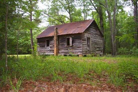 Old Cahawba Archaeological Park: The one-room schoolhouse at Old Cahawba