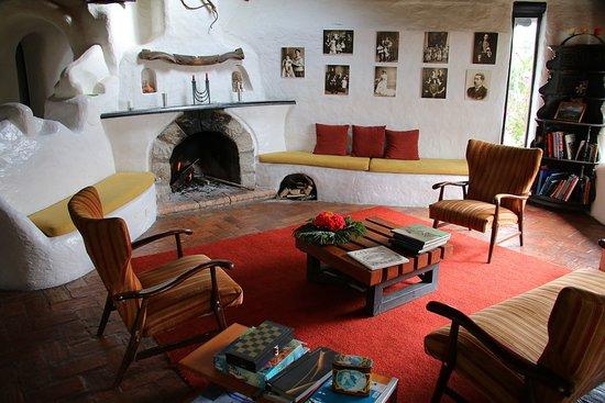 Tambillo, Ecuador: The main lounge.