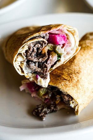 Aladdin's Eatery: Shawarma Roll