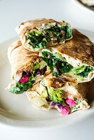 Aladdin's Eatery: Vegetarian Roll