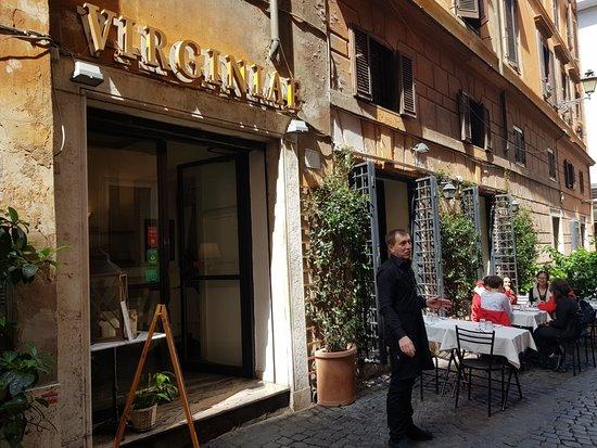Ristorante virginiae la vera cucina romana nel cuore di for Cucina romana rome