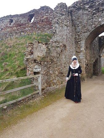 Castle Rising: Entrance to the Castle