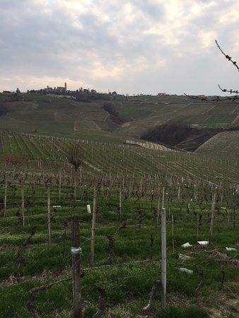 Castiglione Tinella, Italy: vista dal giardino