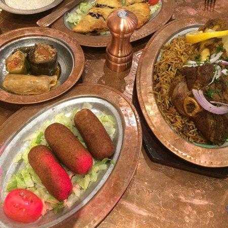Terrific food and fabulous decor