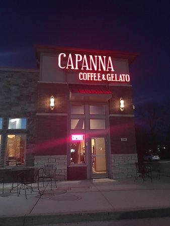 North Liberty, IA: Capanna Coffee and Gelato